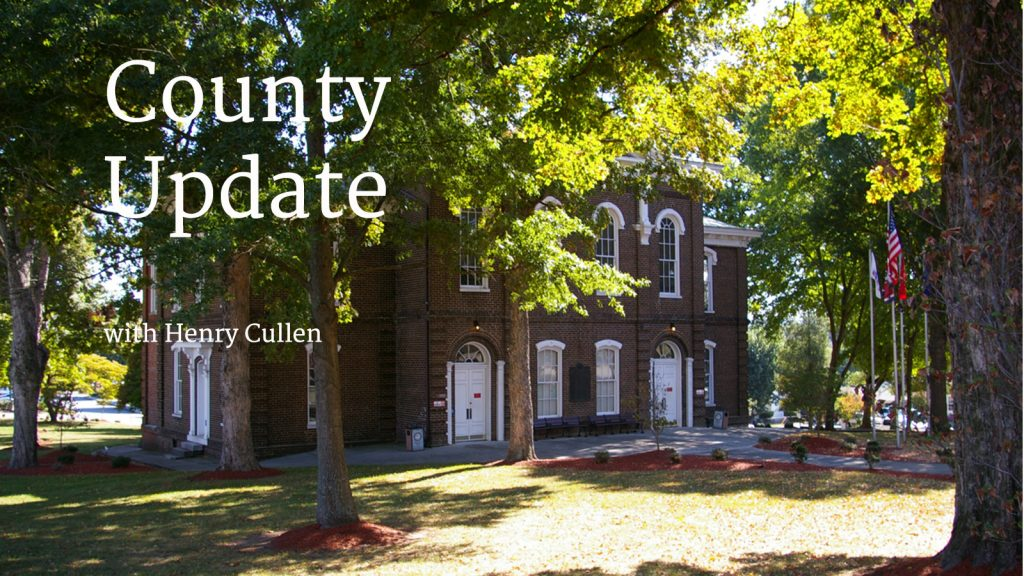 County Update Aug. 2017
